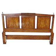 White Fine Furniture 1970s Italian Provincial Mahogany Full ~ Queen size Headboard