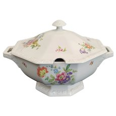 Rosenthal Group Classic Rose Collection Floral Porcelain Lidded Soup Tureen