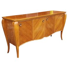 Hickory White Furniture Cherry French Philippe Style Dining Room Sideboard Model 44024-44