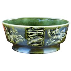 "Mid Century English Porcelain Royal Winton Grimwades Green ""Jamaica"" Bowl"