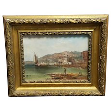 Alfred Pollentine (British 1836-1890) 19th Century Signed Oil On Canvas Painting