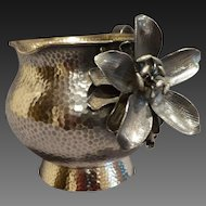 Antique Geo Shreve & Co Aesthetic Sterling Creamer C 1880's