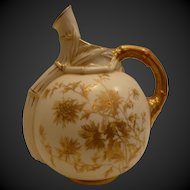 Royal Worcester Pitcher 19th Century Signed Numbered.