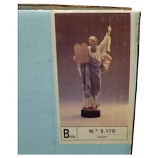 Lladro Moses & Ten Commandments #5170 Mint w Box