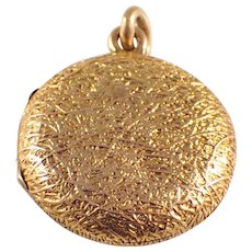 Victorian 14k Yellow Gold Locket