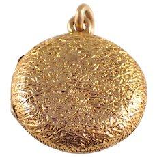 Victorian 14k Yellow Gold Locket