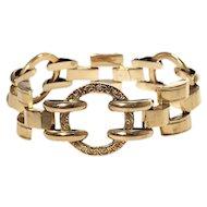 Retro 14k Yellow Gold Bracelet