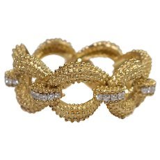 Wander 18k Yellow Gold Diamond Bracelet