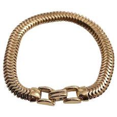 Retro Tiffany & Co 14k Yellow Gold Bracelet