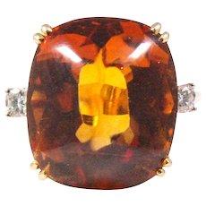 Tiffany & Co. 14k Yellow Gold Citrine Ring