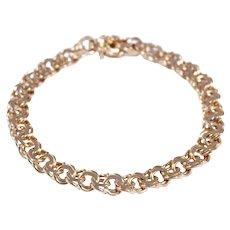 18k Yellow Gold Charm Bracelet