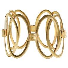18k Yellow Gold Open Link Bracelet