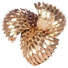 Tiffany and Co. 18k Yellow Gold Brooch