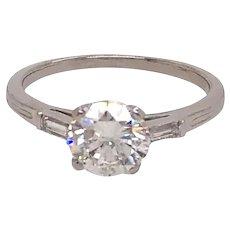 Platinum Tiffany & Co Diamond Engagement Ring