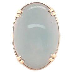 Ming's 14k Yellow Gold Jade Ring