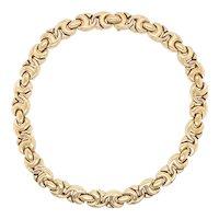 18K Yellow Gold Bulgari Necklace