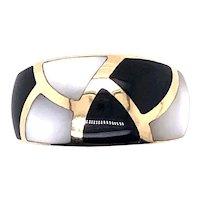 Asch Grossbandt 14k Yellow Gold Ring.