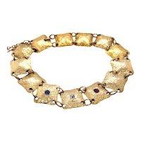 The 14K Yellow Gold Bracelet.