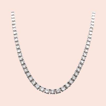 Platinum Diamond Necklace.