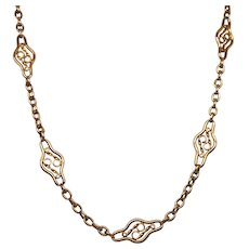 Antique 18K Yellow Gold Chain (26435)