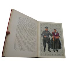 Original,Vintage,Antique,circa 1932,The National Costumes of Holland,Limited Edition 400 copy out of 520,Decorative art,