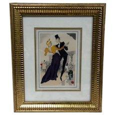 Original,Le Geulue,French,Vintage,Danses D'Hier,illustrations,dances