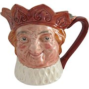 Royal Doulton Harry Fenton Earthen Old King Cole 1935-1955 Huge Toby