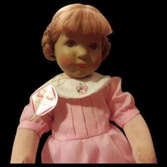 """Vintage 10"""" German Kathe Kruse doll"""
