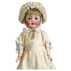 Antique German character bisque head doll Guido Knauth
