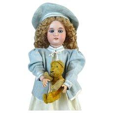 Antique German Bisque Head Doll Adolf Wislizenus AW Special