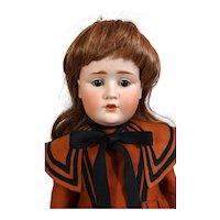 Antique German bisque head doll J. D. Kestner JDK 249