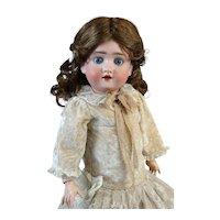 Antique German Bisque Head Doll Kley Hahn 250 Walkure