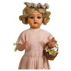 KR 717 Kammer & Reinhardt antique German Celluloid Doll