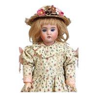 Antique German Bisque Head Doll Bahr & Proschild B & P 247 DEP