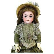 Antique German Bisque Head Doll Simon & Halbig S&H 1039 DEP