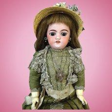 Antique German Bisque Head Doll Simon & Halbig S&H 1039 DEP