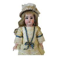 Rare Antique German Bisque Head Doll Guido Knauth 501