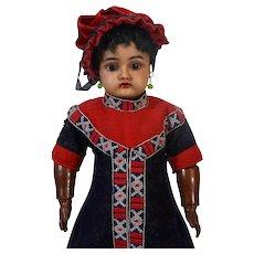 Rare Antique German Bisque Head Doll Simon Halbig Handwerck S&H HH