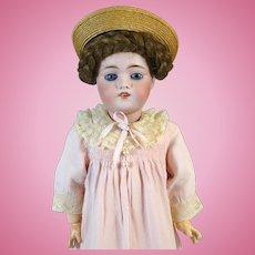 Johann Daniel Kestner JDK 168 Antique German Bisque Head Doll