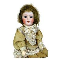Antique German Bisque Head Doll Simon & Halbig