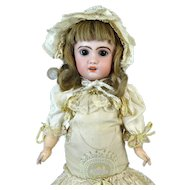 Antique French Bisque Head Doll Jumeau 1907