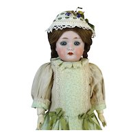 Rare Antique German Bisque Head Doll Wiefel & Co 301