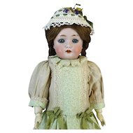 Rare Antique German Bisque Head Doll Wiefel & Co 301