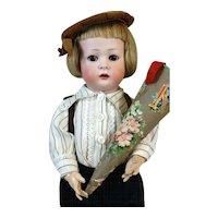 Antique German Bisque Head Doll Konig & Wernicke