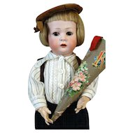 Antique German Bisque Head Doll Konig & Wernicke