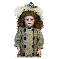 Antique German Bisque Head Doll Simon & Halbig 739