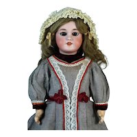 Antique French Bisque Head Doll DEP 8 Jumeau