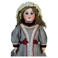 Antique French Bisque Head Doll DEP 8 Jumeau