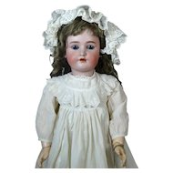 Antique German Bisque Head Doll Heinrich Handwerck SH HH