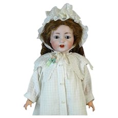 Rare Antique German Doll SAH